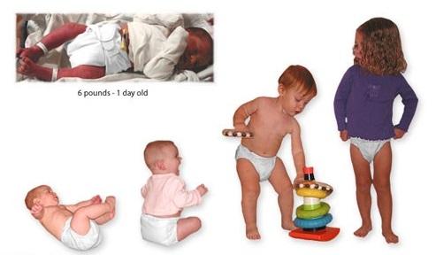پوشک نوزادان